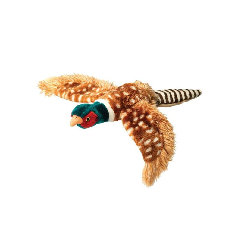 House of Paws Plush Pheasant Dog Toy Small