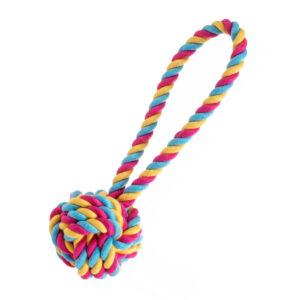 House of Paws Rainbow Ball Jumbo Dog Toy