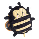 House of Paws Really Squeaky Bee Dog Toy