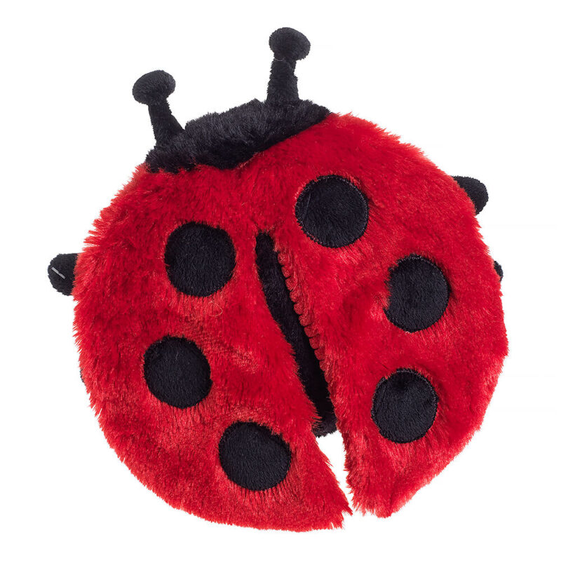 House of Paws Really Squeaky Ladybird Dog Toy