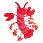 House of Paws Under the Sea Lobster Dog Toy