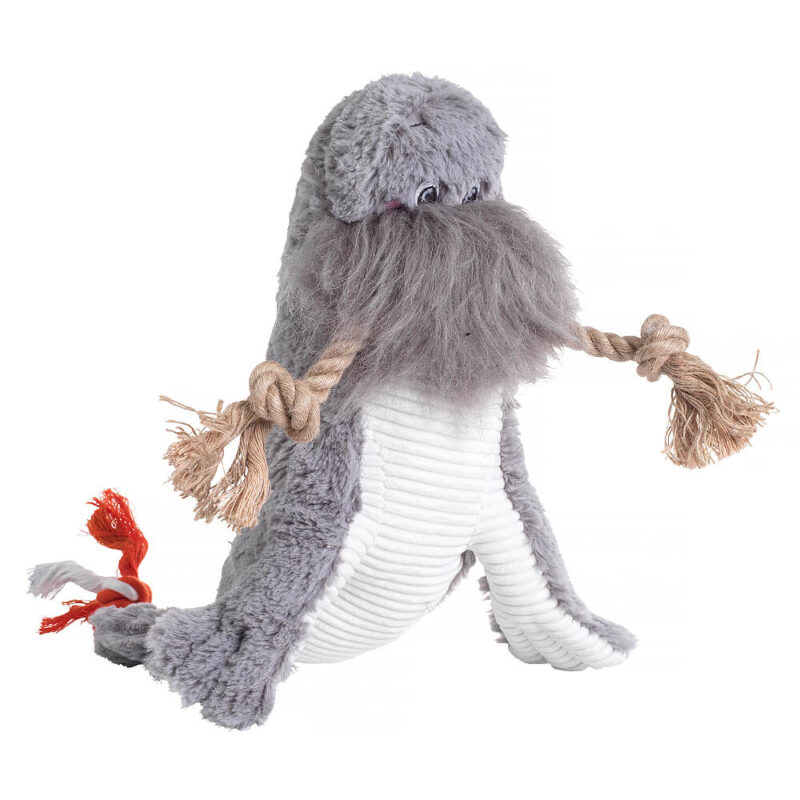 House of Paws Under the Sea Walrus Dog Toy
