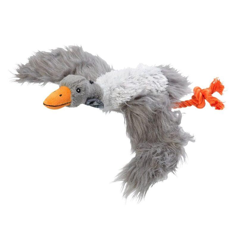 House of Paws Winter Woodland Goose Plush Dog Toy