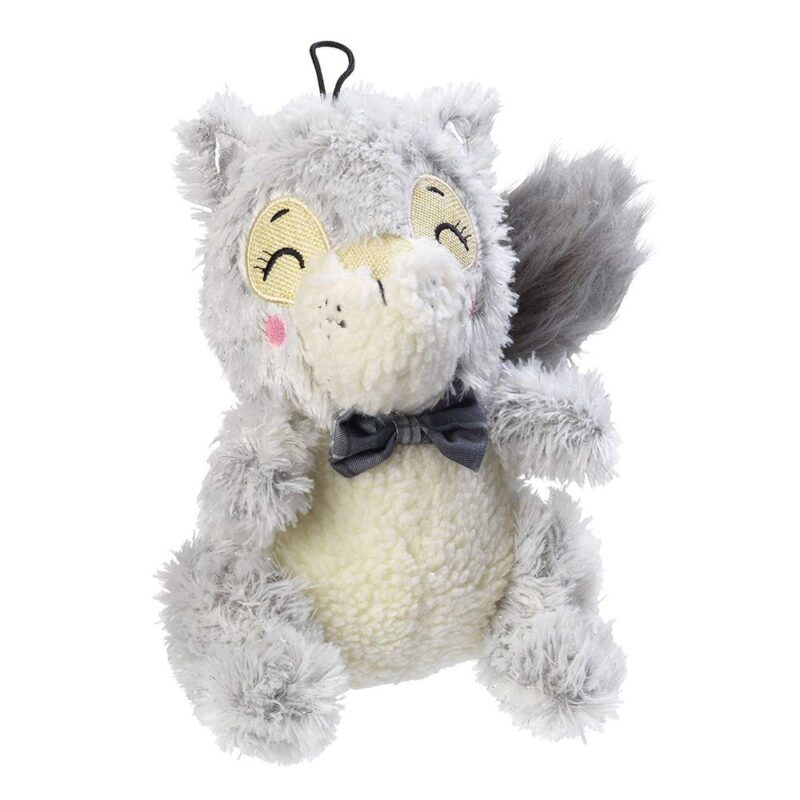 House of Paws Winter Woodland Squirrel Plush Dog Toy
