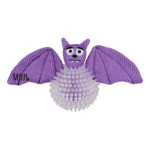 Ministry of Pets Bertie the Bat 2in1 Dog Toy