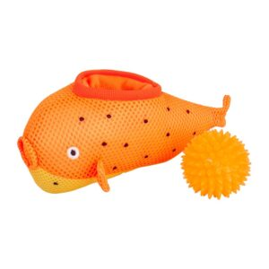 Ministry of Pets Pablo the Pufferfish 2in1 Dog Toy