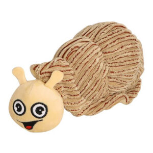 Ministry of Pets Shelly the Sea Snail Plush Dog Toy