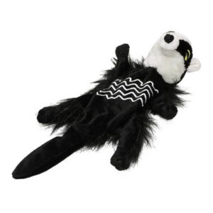 Pet Brands Forest Critters Plush Badger Small Dog Toy