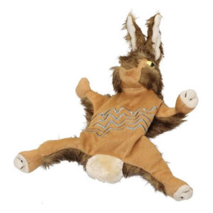 Pet Brands Forest Critters Plush Rabbit Small Dog Toy