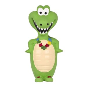 Pet Brands Go Wild Crocodile Latex Dog Toy