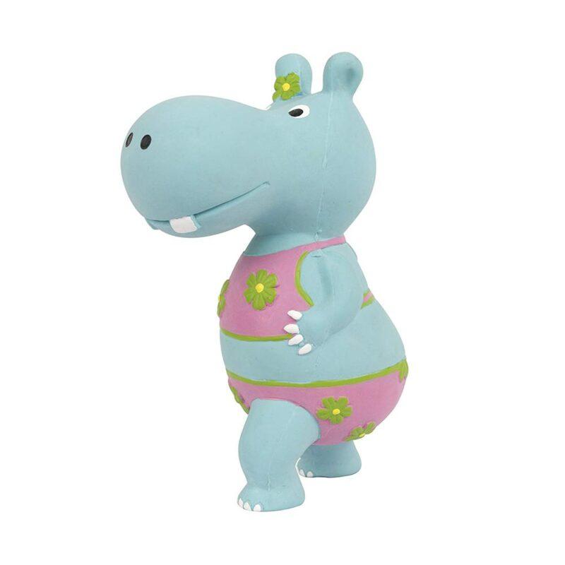 Pet Brands Go Wild Hippo Latex Dog Toy