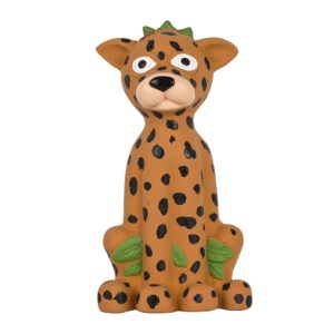 Pet Brands Go Wild Jaguar Latex Dog Toy