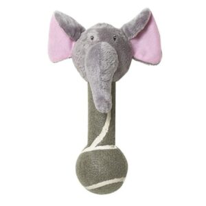 Pet Brands Go Wild Jungle Friends Ellie the Elephant Dog Toy