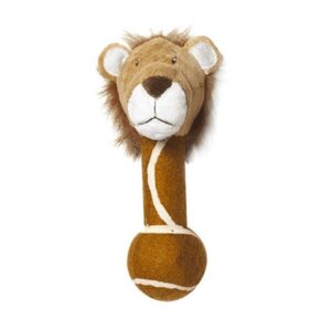 Pet Brands Go Wild Jungle Friends Leon the Lion Dog Toy