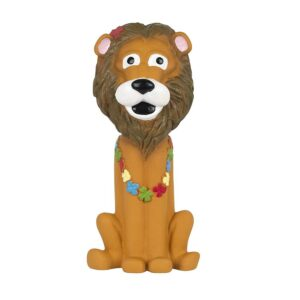 Pet Brands Go Wild Lion Latex Dog Toy