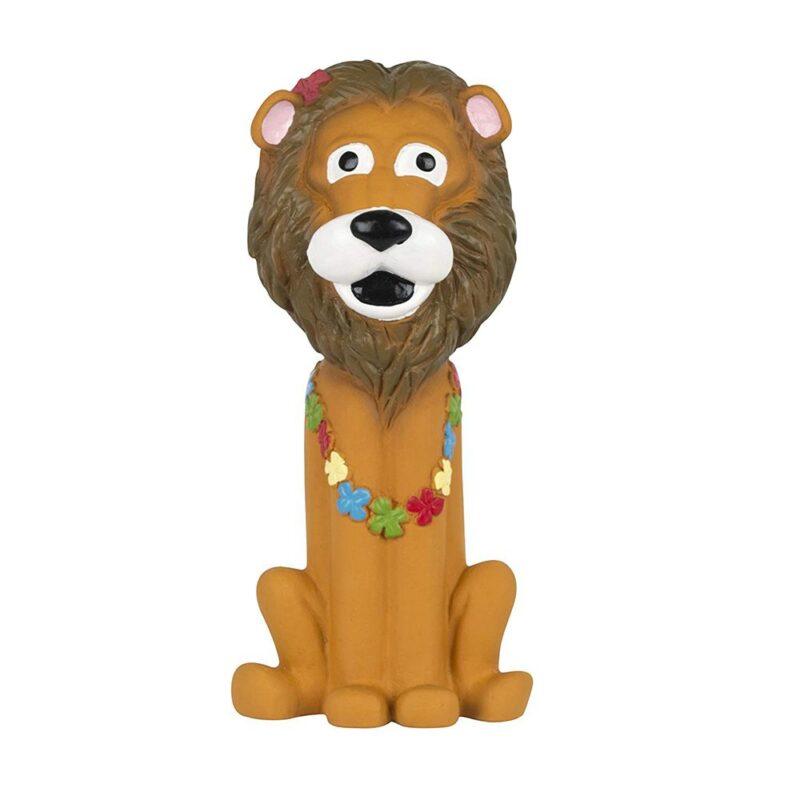 Pet Brands Go Wild Lion Latex Dog Toy
