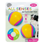 Pet Brands iQuties All Senses Activity Dog Toy - 2 pack