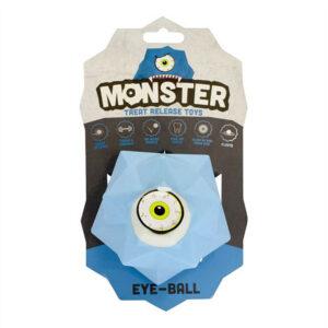 Pet Brands Monster Treat Release Dog Toy - Blue