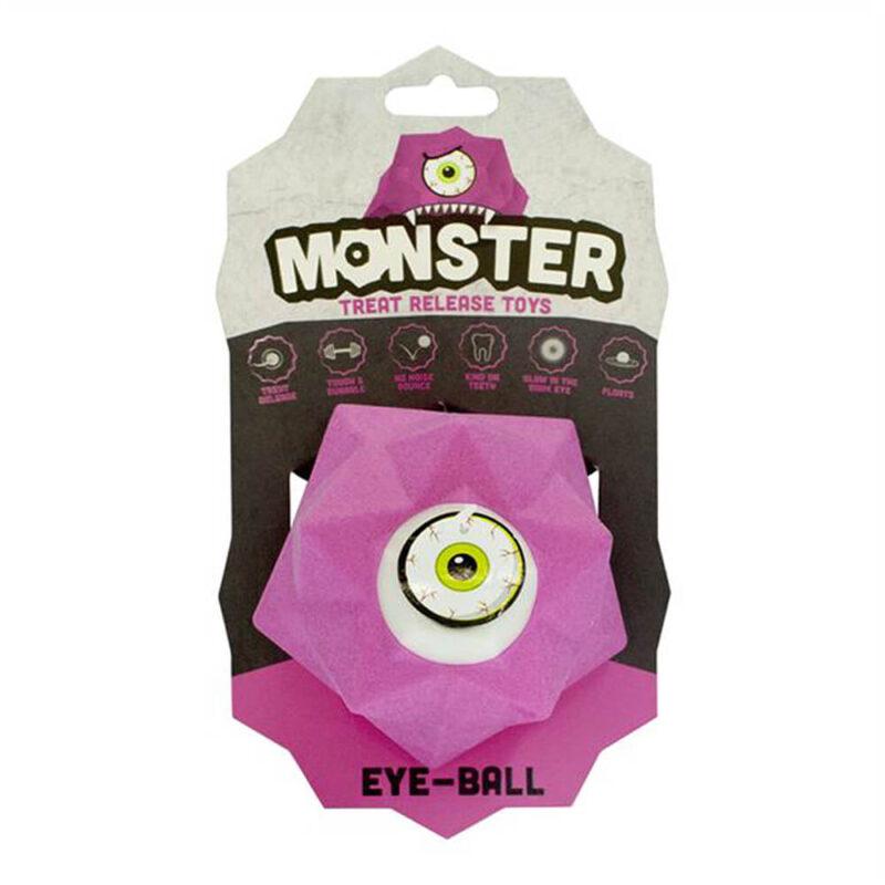 Pet Brands Monster Treat Release Dog Toy - Pink
