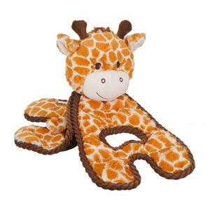 Petstages Cuddle Tugs Giraffe Dog Toy