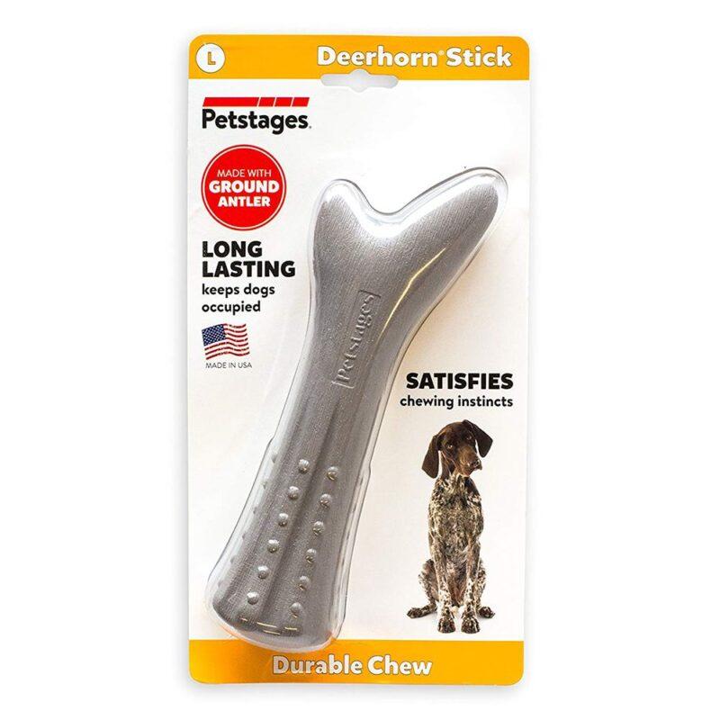 Petstages Deerhorn Large Dog Toy