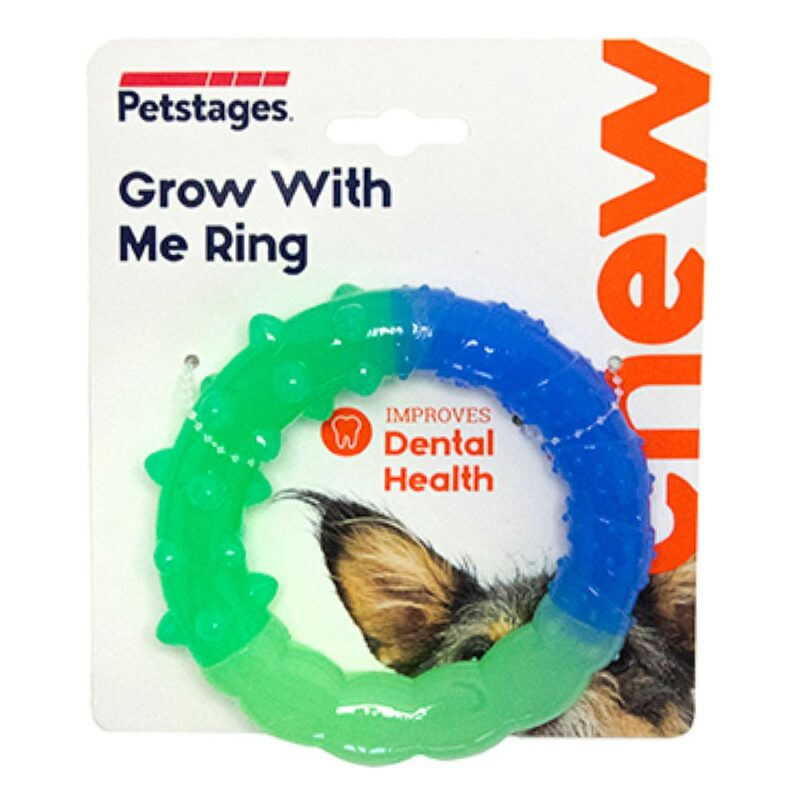 Petstages Grow With Me Ring Puppy & Small Dog Toy