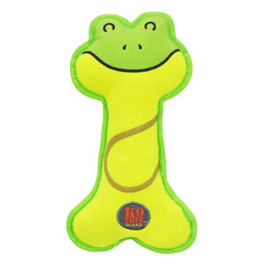 Petstages Lil' Racquets Frog Dog Toy