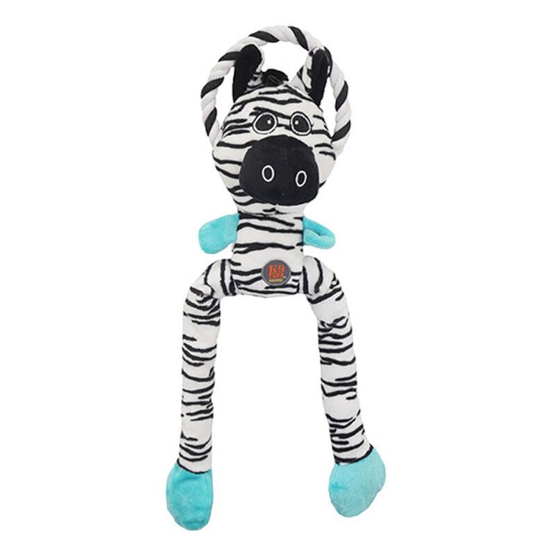 Petstages Thunda Tugga Leggy Zebra Dog Toy
