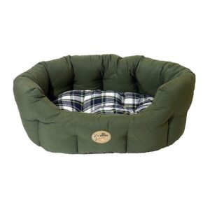 Rosewood 40 Winks Dog Bed - Country Green 20""