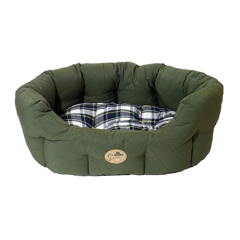 """Rosewood 40 Winks Dog Bed - Country Green 20"""""""
