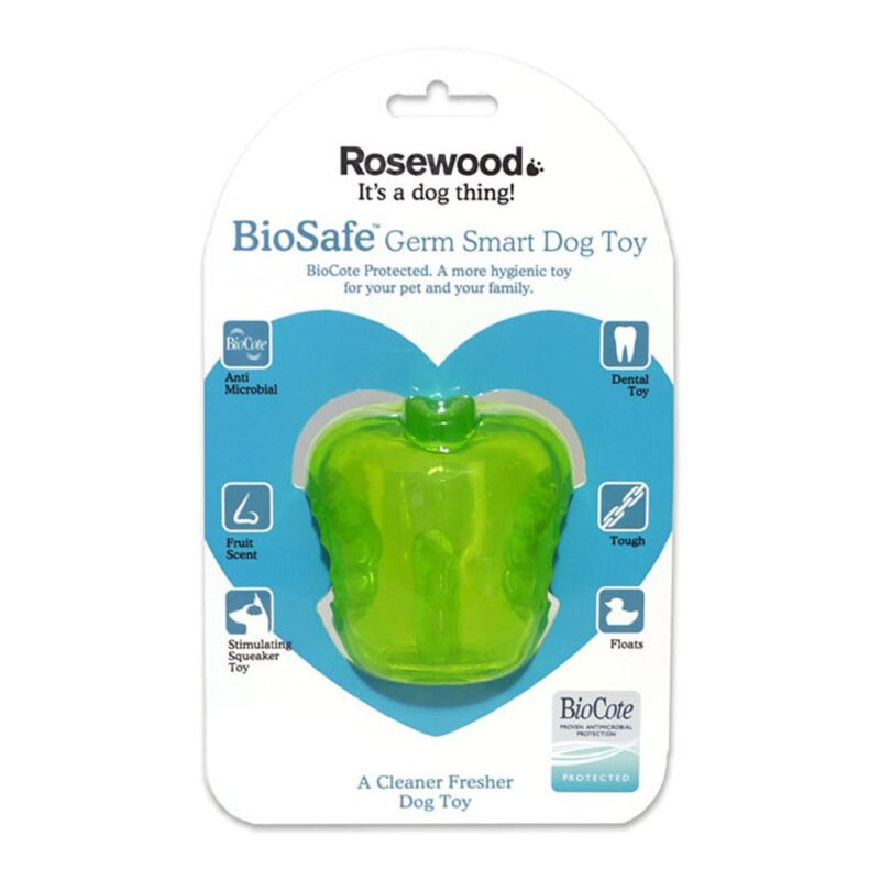 Rosewood Biosafe Apple Dog Toy