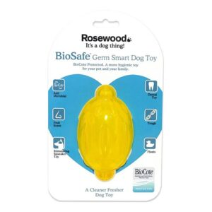 Rosewood BioSafe Lemon Dog Toy