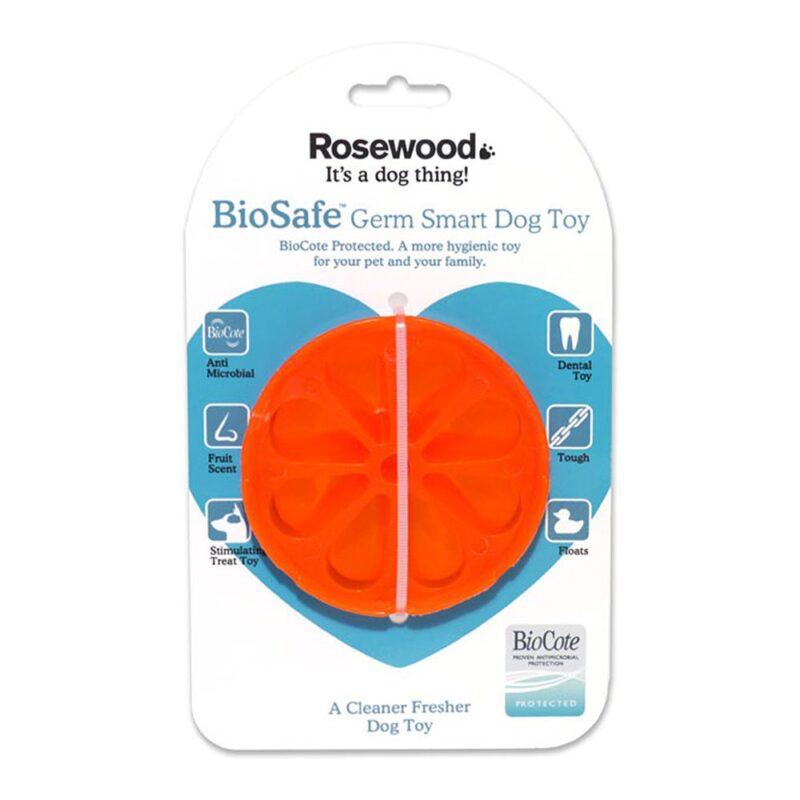 Rosewood Biosafe Orange Dog Toy