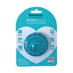 Rosewood Biosafe Puppy Ball Blue