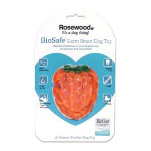 Rosewood Biosafe Raspberry Dog Toy