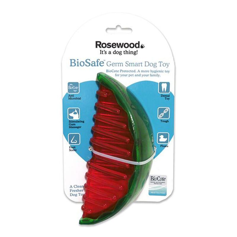 Rosewood BioSafe Watermelon Dog Toy