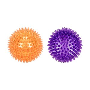 Rosewood Catch & Play Spikey Ball Dog Toy