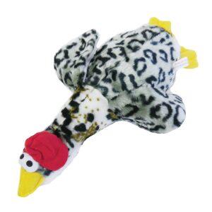 Rosewood Chubleez Quackers Grey Dog Toy