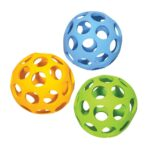 Rosewood Cyber Rubber Lattice Football Dog Toy