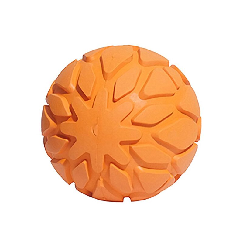 Rosewood Cyber Rubber Tough Rubber Squeaky Dog Ball
