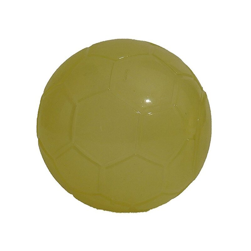 Rosewood Glow in the Dark Squeaky Football Dog Toy