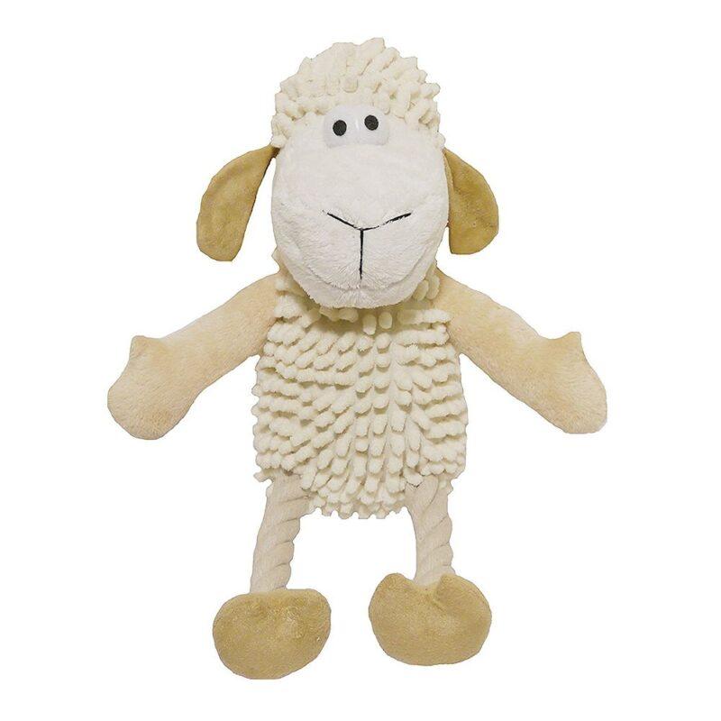 Rosewood Jolly Doggy Farmyard Sheep Dog Toy