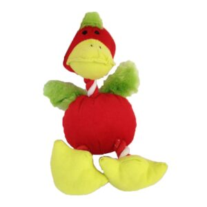 Rosewood Jolly Doggy Red Duck Dog Toy