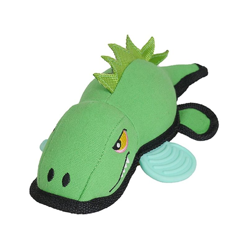 Rosewood Jolly Doggy Tough Canvas Crocodile Dog Toy