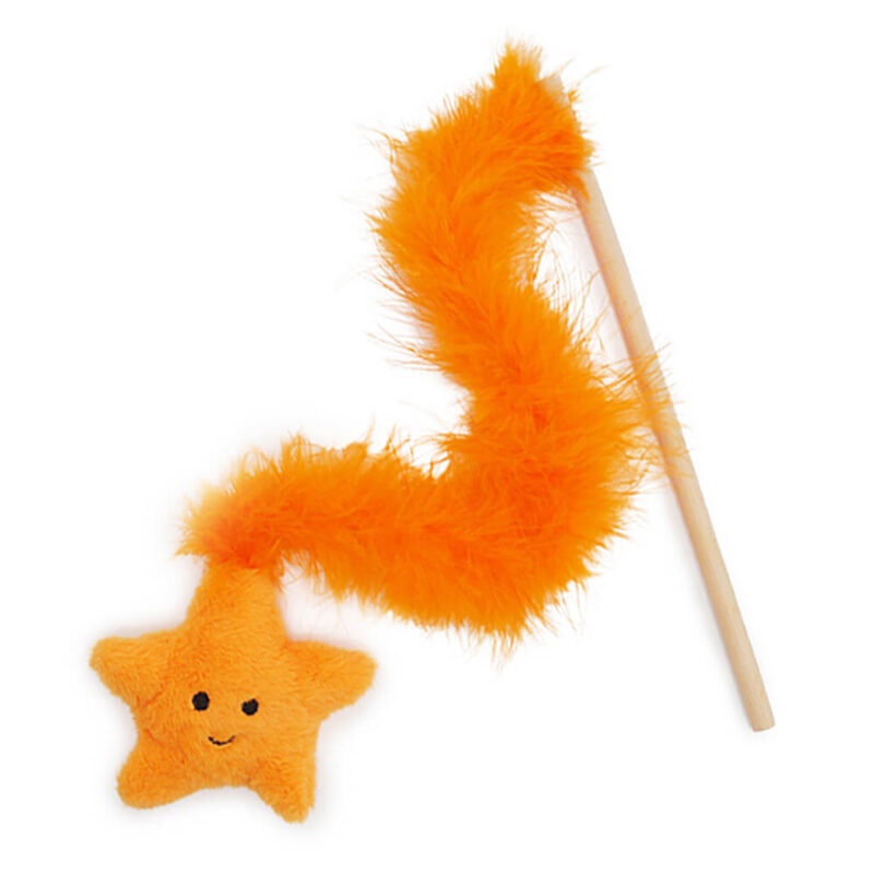 Rosewood Jolly Moggy Under the Sea Starfish Cat Teaser Toy