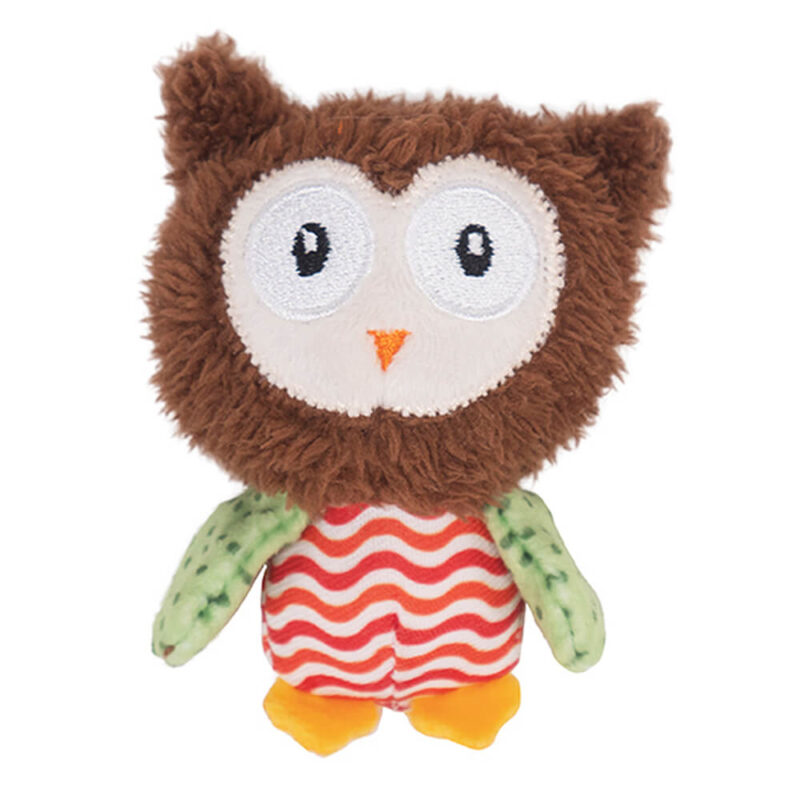 Rosewood Little Nippers Boggle Owl Cat Toy