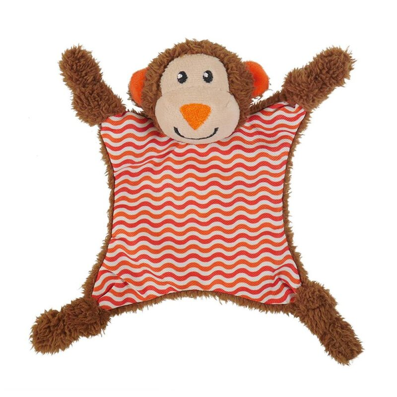 Rosewood Little Nippers Cheeky Chimp Puppy & Small Dog Squeaky Toy