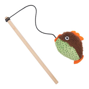 Rosewood Little Nippers Flippy Fish Cat Teaser Toy