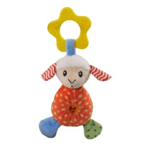 Rosewood Little Nippers Laughy Lamb Puppy & Small Dog Squeaky Toy