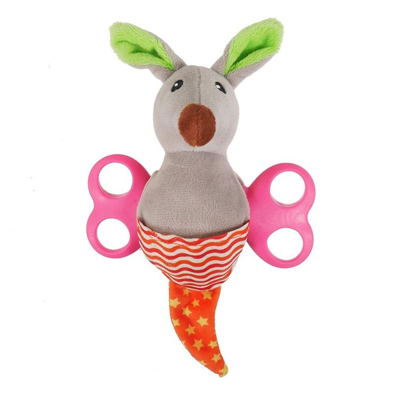 Rosewood Little Nippers Rascal Roo Puppy & Small Dog Squeaky Toy